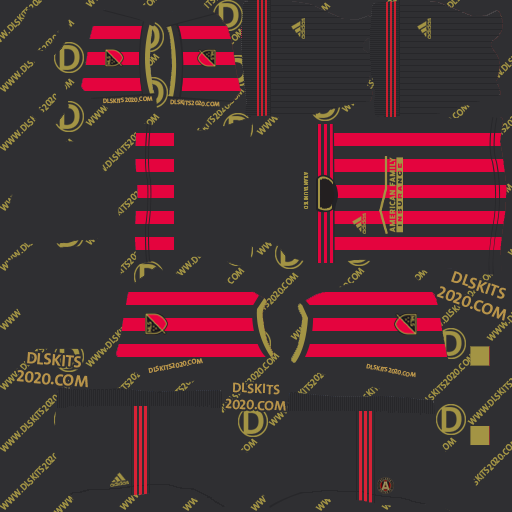 Atlanta United Kits 2020-2021 Home For Dream League Soccer 2020