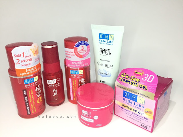 review hada labo gokujyun alpha ultimate anti aging series