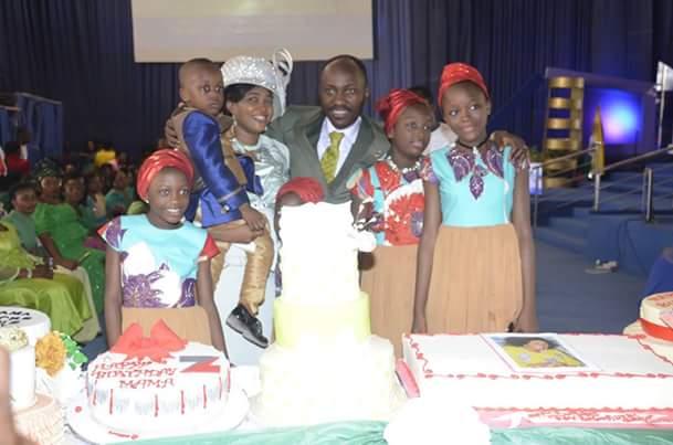 Apostle Suleiman's wife marks birthday; gifts flow