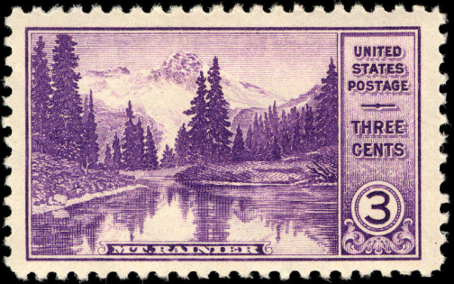 Classic Stamps and History: National Parks issue 1934