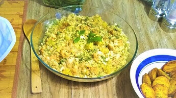 Coconut Pineapple Cauliflower Rice with a Twist (Paleo, Whole30, Gluten-Free, Grain-Free) 4.jpg