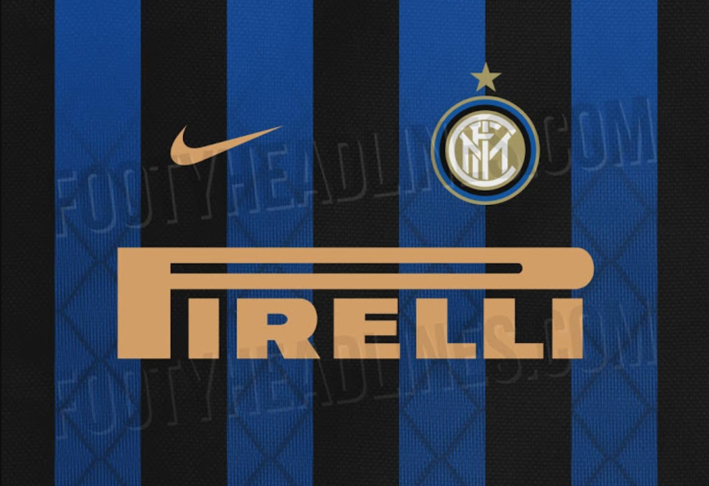 the new inter Milan 2018-19 Kit leaked online nike