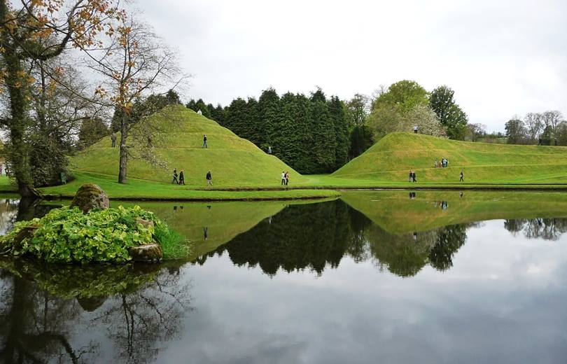 Garden of Cosmic Speculation in Scotland