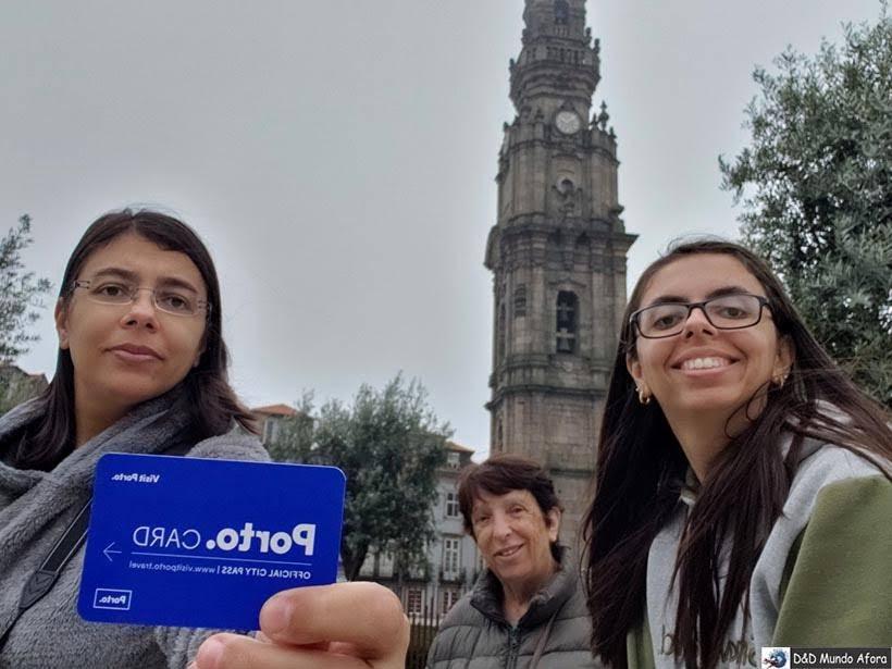 Ao fundo, Torre dos Clérigos - Porto Card
