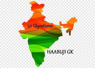 Rajasthan Gk 50 Question