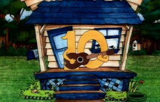 A Number 10 from Tennessee appears with a song. Sesame Street The Great Numbers Game