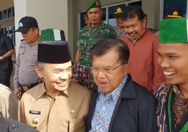 Pimpin Pembukaan Masjid, Jusuf Kalla : Negara Harus Ada Ruhnya