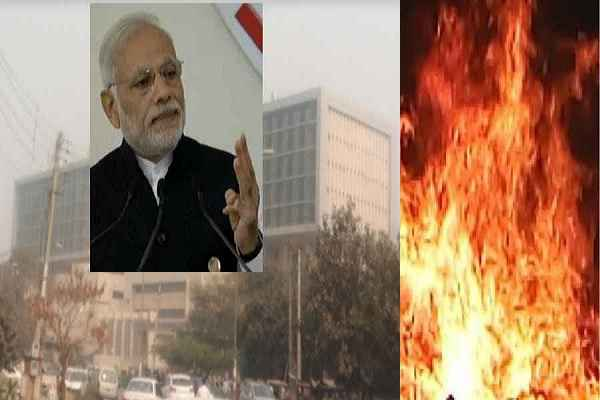 pm-narendra-modi-inaugurate-esi-medical-college-without-fire-clearance-certificate