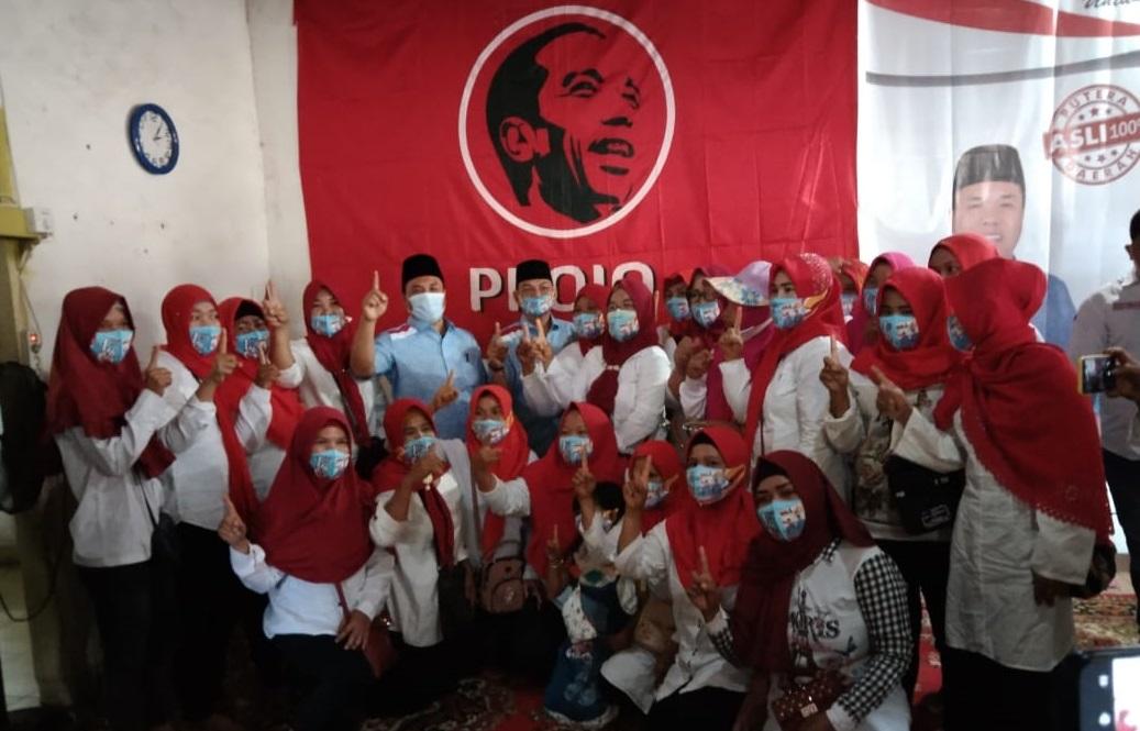 Projo PALI Resmi Deklarasikan Diri Dukung Paslon DH-DS