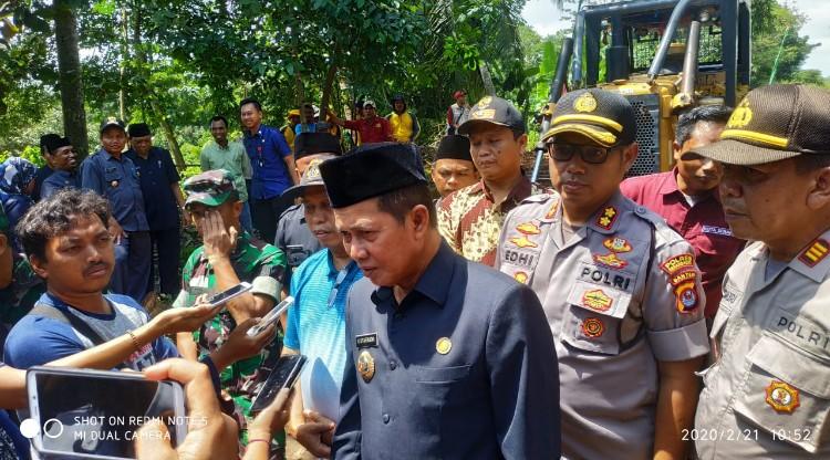 Walikota Serang Hadiri Pembukaan Karya Bakti di Kelurahan Lebak Wangi
