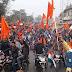 NRC और CAA के समर्थन में मधेपुरा में निकाला धन्यवाद मार्च