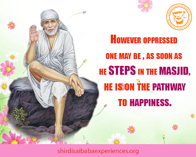 Prayer For Problems Of My All Family Members - Anonymous Sai Devotee