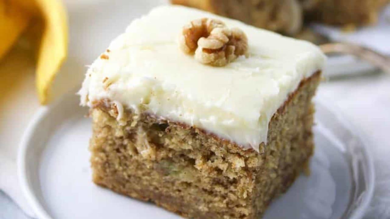 Lembut Banget, Begini Resep Cake Pisang Anti Gagal
