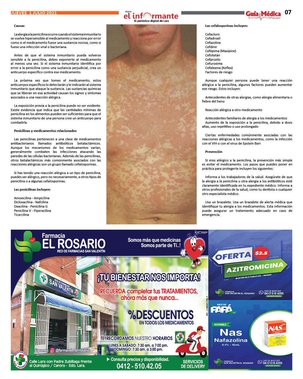 GUÍA MÉDICA EI INFORMANTE - Nº6