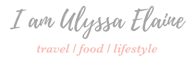 I am Ulyssa Elaine - Travel, Food and Lifestyle Blogger