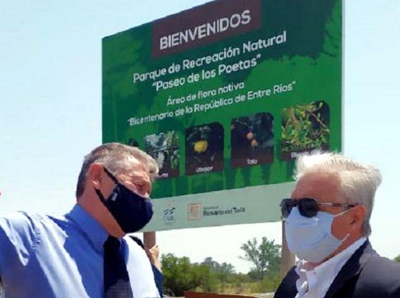Donación de 90 árboles al municipio de Rosario del Tala
