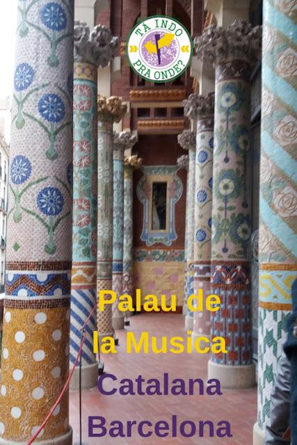 Palau de la Musica Catalana (Barcelona)