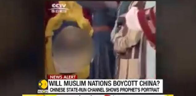 TV Nasional China Tayangkan Gambar Nabi Muhammad, Akankah Gerakan Boikot Produk China Dilakukan?