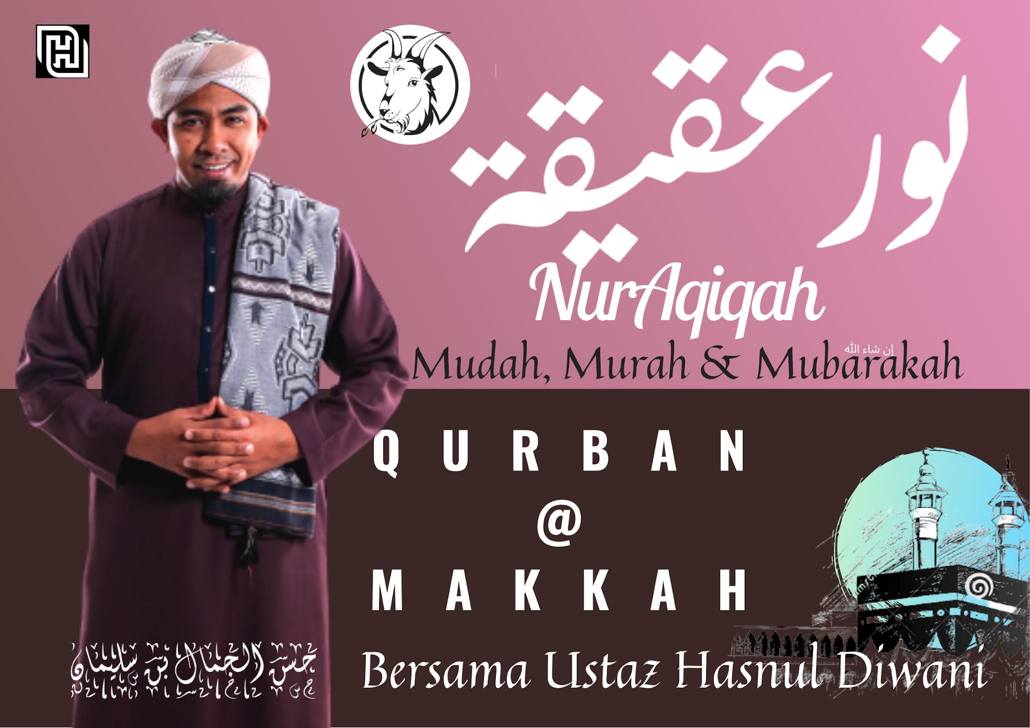 Tempahan Qurban Secara Online Melalui NurAqiqah 1442/2021 Di Tanah Suci Makkah