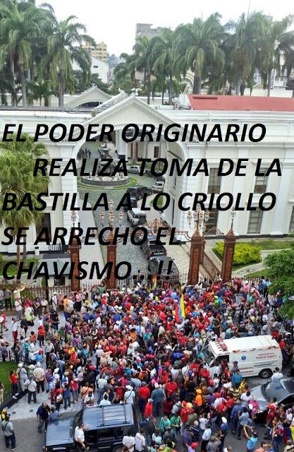 Resultado de imagen para TOMA DEL CHAVISTA A LA ASAMBLEA ESCUALIDA