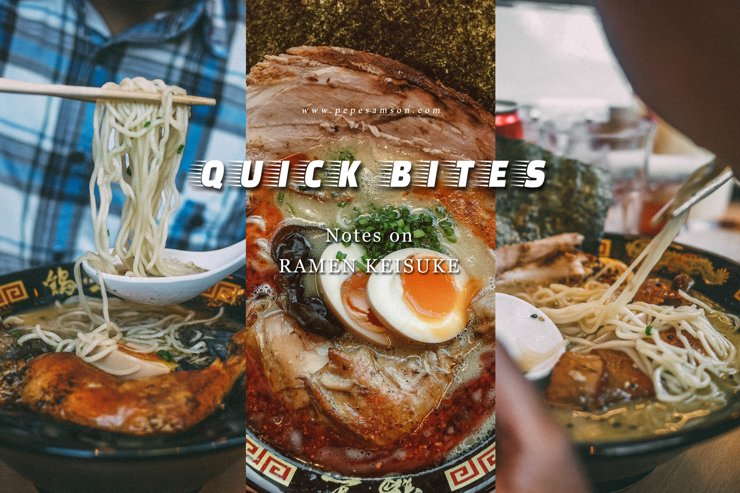 Quick Bites: Notes on the Newly-Opened Ramen Keisuke Tori King Philippines