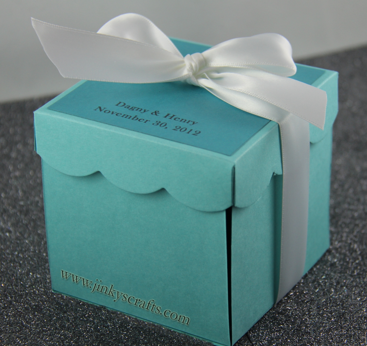 Jinky39s Crafts Designs Tiffany Inspired Invitation