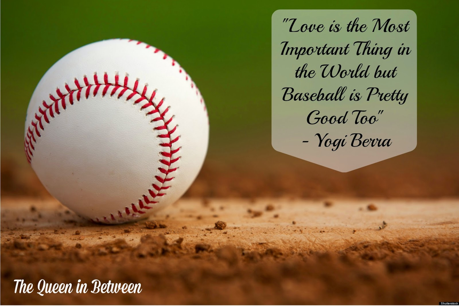 Baseball Love Quotes Friday Favorites  For The Love Of The Game  The Queen In Between
