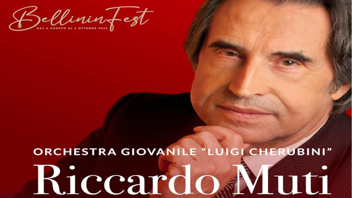 Bellininfest Vincenzo Bellini Cigno catanese Riccardo Muti orchestra Cherubini