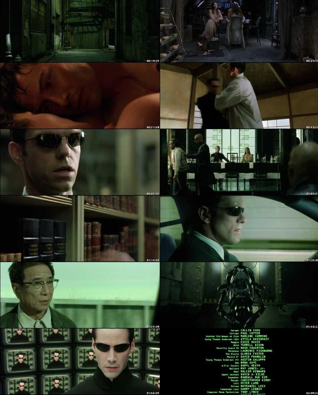 The Matrix Reloaded 2003 Screenshot 1080p