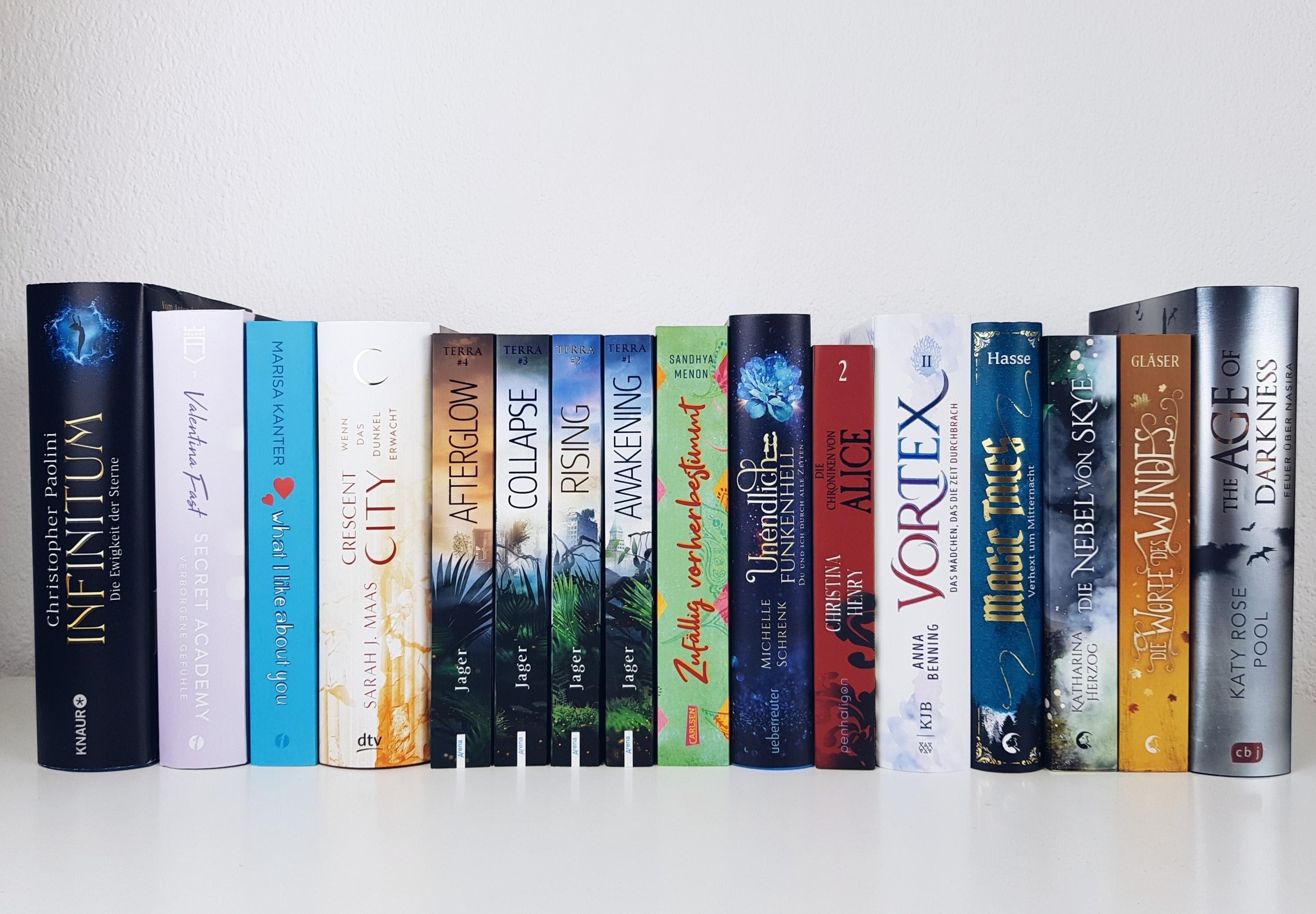 Bücherblog. Neuzugänge Bücher. Jugendbuch. Fantasy. September 2020.