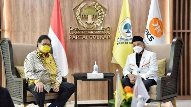 Silaturahmi Politik, Airlangga Hartarto dan Ahmad Syaikhu Sepakat Tinggalkan Politik Identitas