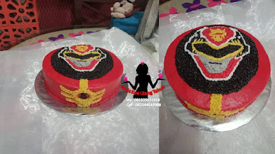 Kue Tart Power Ranger