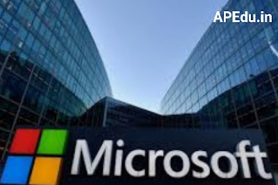 AP Govt - Microsoft Join Hands to Train 1.60 Crore Students