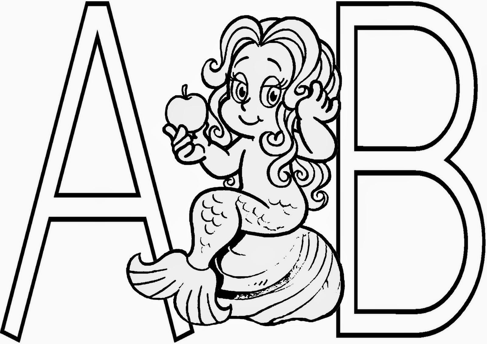 Alfabeto De Folclore Para Colorir Espaco Educar Desenhos Pintar