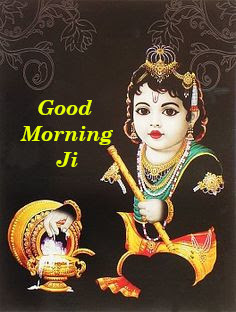 Lord  Krishna Good Morning