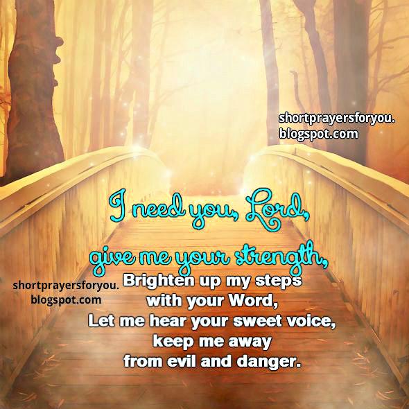 Lord, Help me on my way short prayer, free christian card, free prayer, pray,