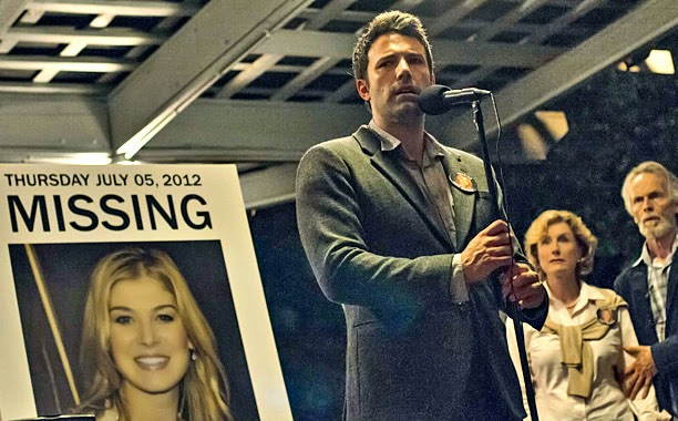 Ben Affleck as Nick Dunne in Gone Girl, Directed  by David Fincher