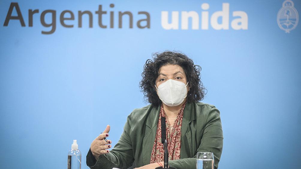 """Carla Vizzotti: """"Les pedimos que solo salgan a trabajar y a llevar a los chicos a la escuela"""""""