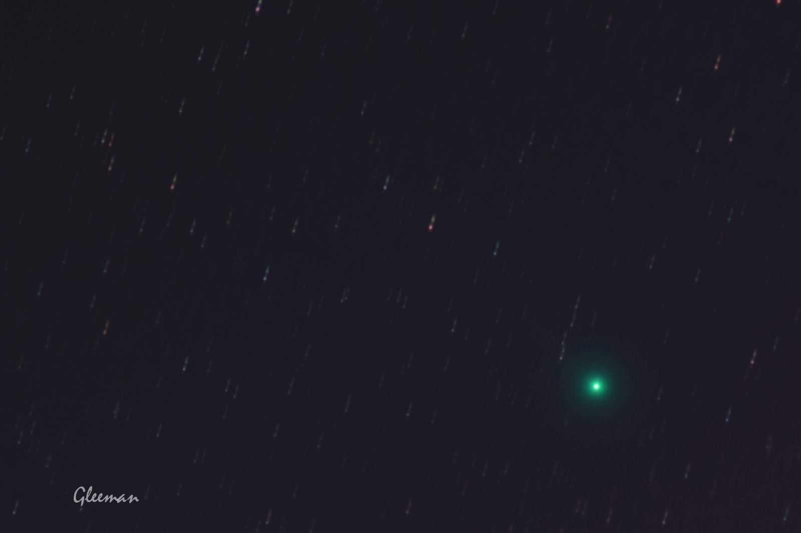 Comet Lovejoy /Pentax K5, O-GPS1 Astrotracer, LPS-P2 filter, DA*200 /DeepSkyStacker