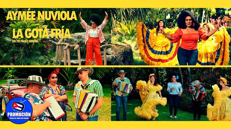 Aymée Nuviola - ¨La Gota Fría¨ - Videoclip - Director: Paulo Simeon. Portal Del Vídeo Clip Cubano. Música cubana. Cuba.