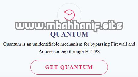 Membuat akun Quantum Tunnel
