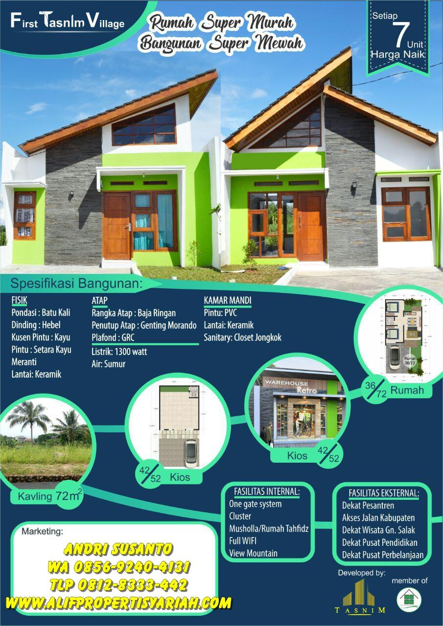 Perumahan Syariah First Tasnim Village - Jual Rumah ...