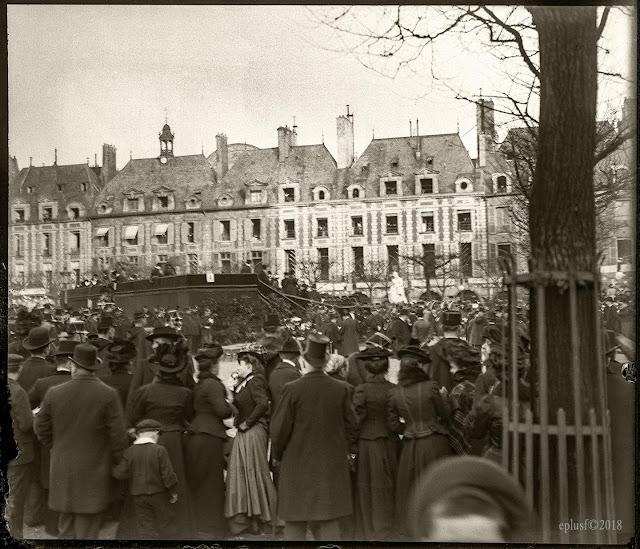 Événement dans le Marais 2 mars 1902