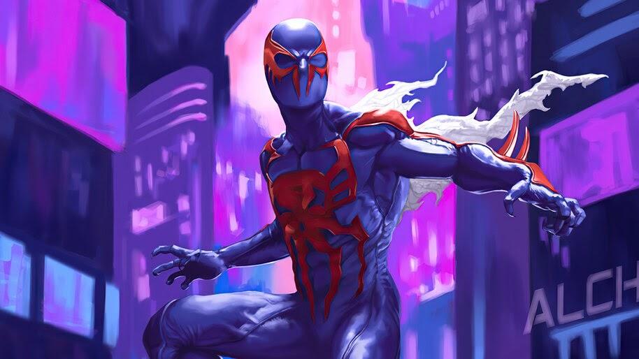 Spider-Man 2099, Art, 4K, #6.2125