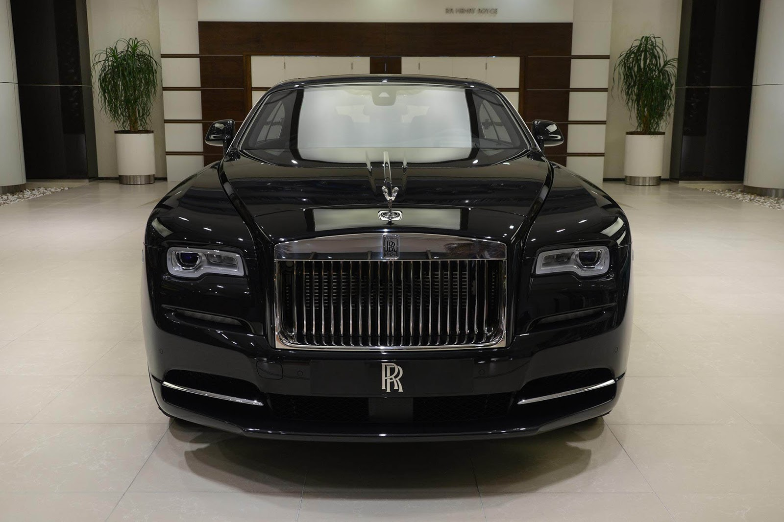 Rolls-Royce Wraith Spirit Of The Union Edition Celebrates