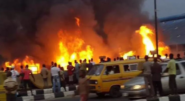 Two feared dead in multiple Lagos pipeline explosions