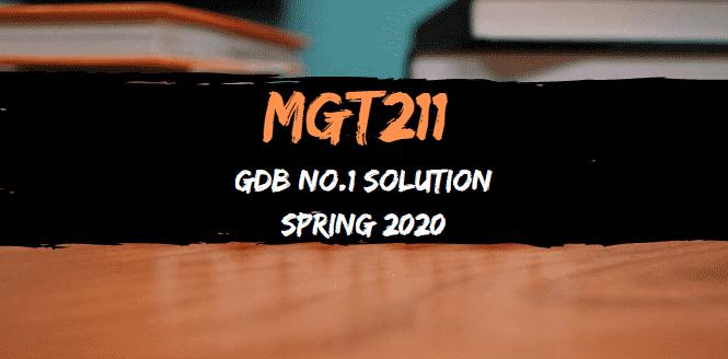 MGT211