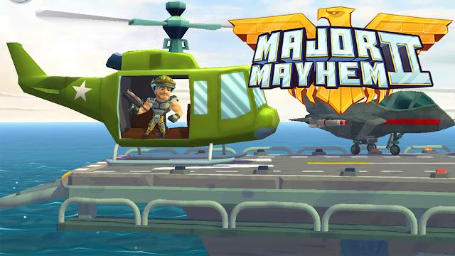 لعبة التسلية والاكشن الرائعة major mayhem 2
