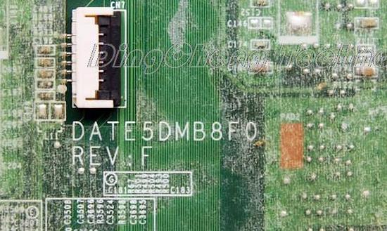 DATE5DMB8F0 REV F TOSHIBA L745  Laptop Bios