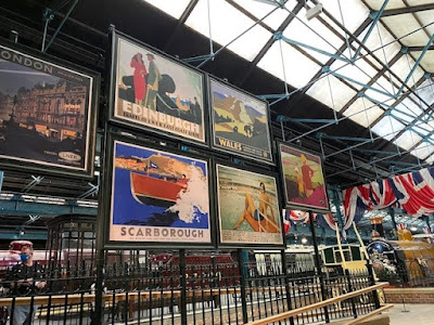 The National Rail Museum York, train travel posters